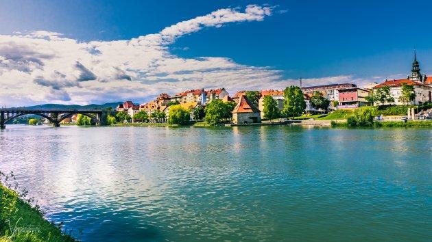 Skyline of Maribor