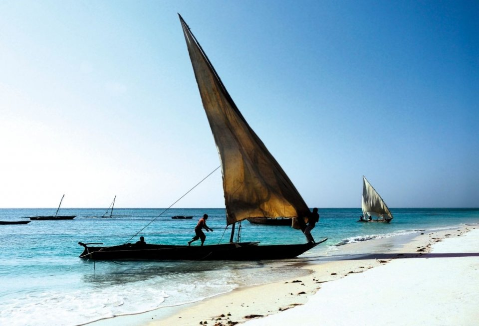 Onthaasten op het droomeilandje Pemba bij Zanzibar. Foto: Hanneke de Vries