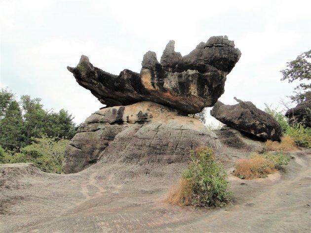 Bijzondere rotsen.