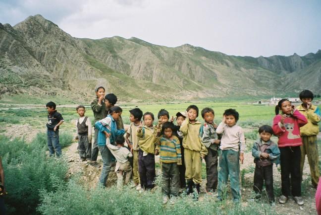 Jeugd van Tibet