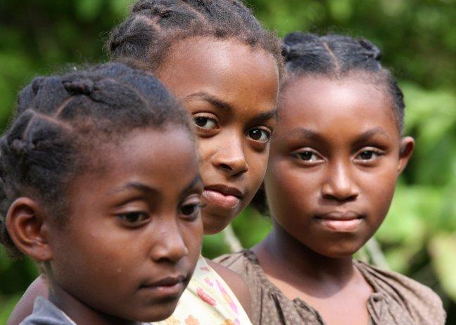 Drie meiden