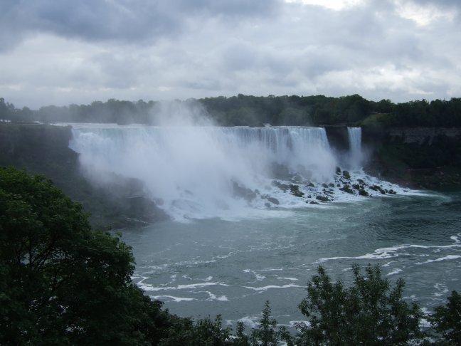 Niagara Watervallen september 2008