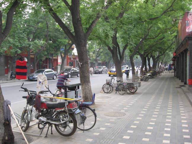 het stadsbeeld van Beijing