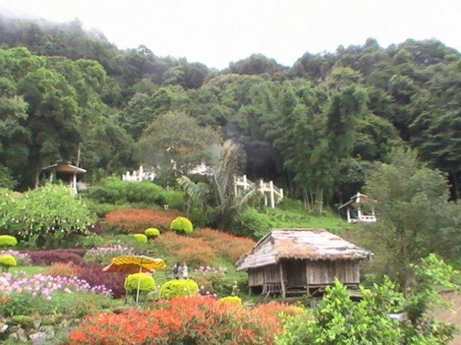 Hmnong dorpje