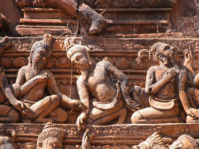 Detail Angkor Wat