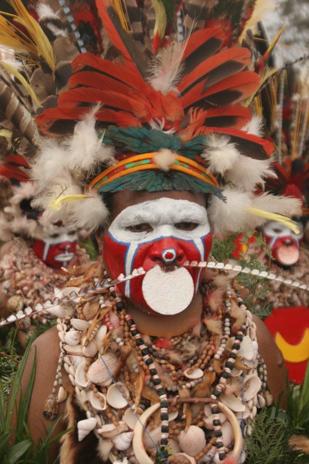 papua vrouw