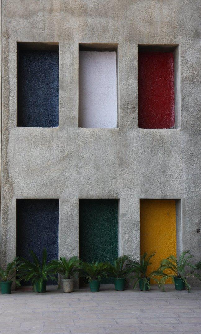 Hooggerechtsgebouw Le Corbusier