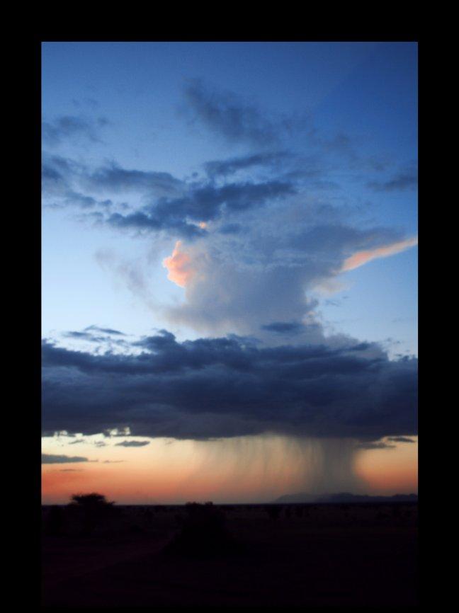 Regen of zonneschijn?