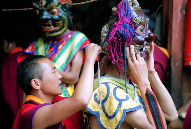 festival in Jakar
