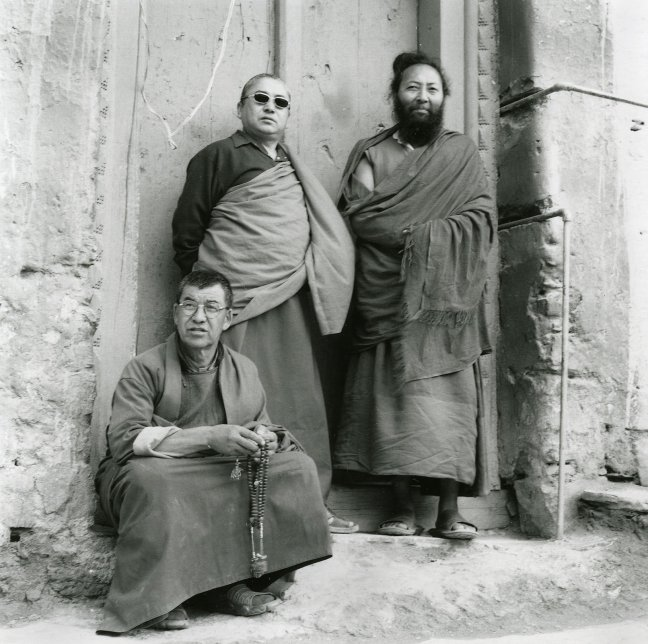 Drie Monniken in Lamayuru