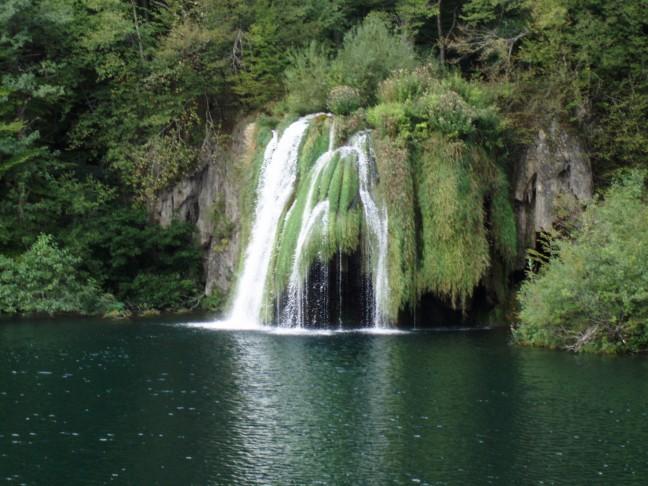 Waterval bij Plitvice meren