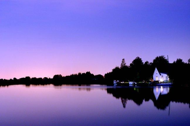 Huis aan het water