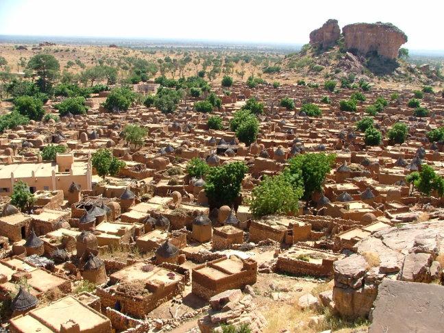 Dogon-Sangha dorp