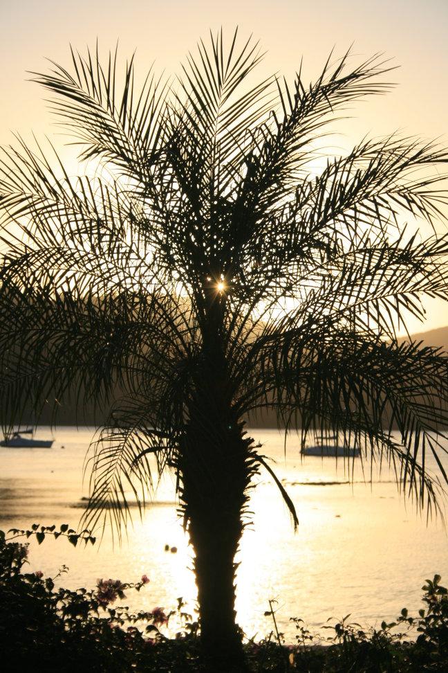 zonsondergang op Long Island