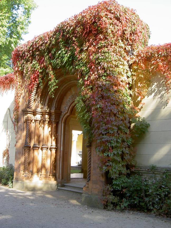 Herfstachtige ingang
