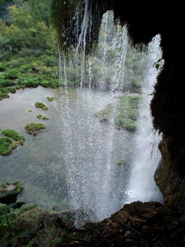 Waterval bij Plitvice
