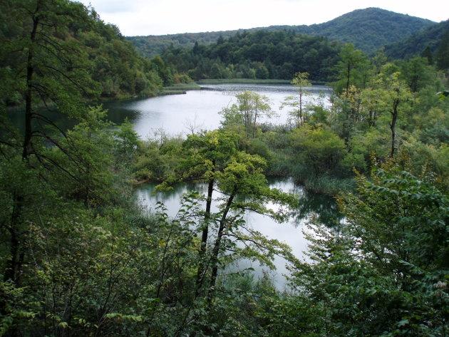 Uitzicht over de meren