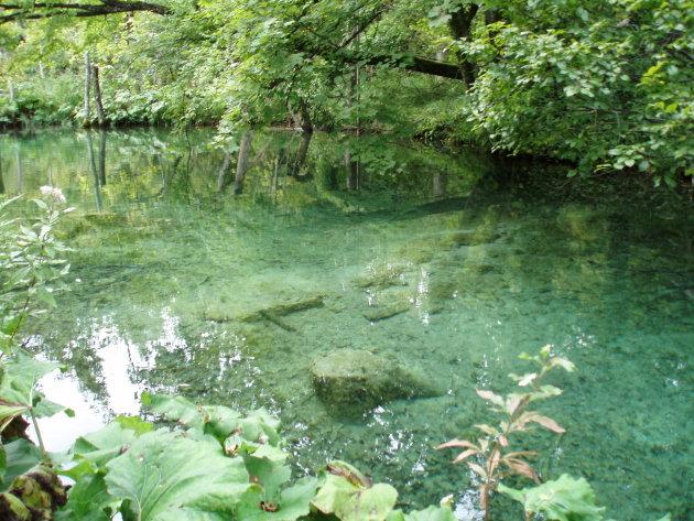 Helder water in Kroatie