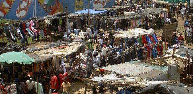 Markt in Lusaka