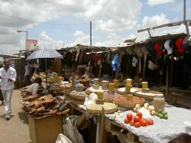 Markt in Zambia