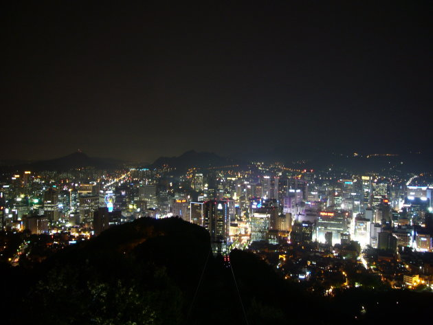 Uitzicht Seoul