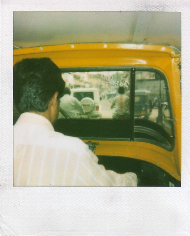 Rickshaw rit