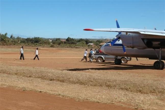 Vliegen vanaf Banlung Airport