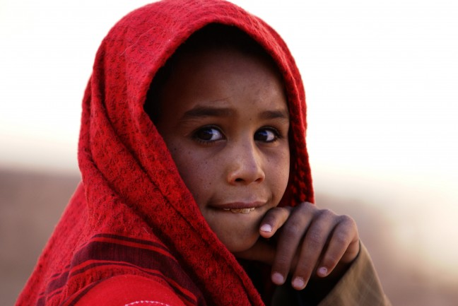 Berberjongen in Sinaï