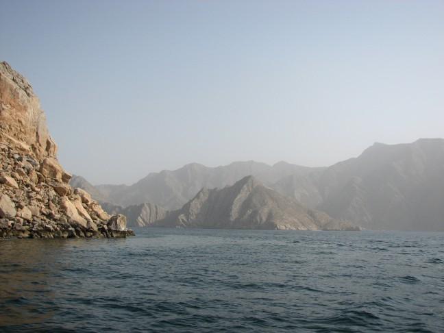 """De """"fjorden"""" van Oman"""
