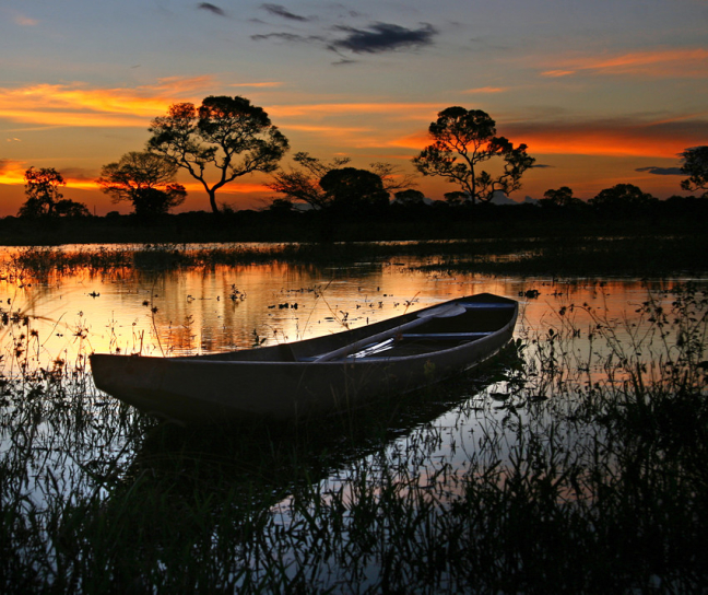 Pantanal schemering