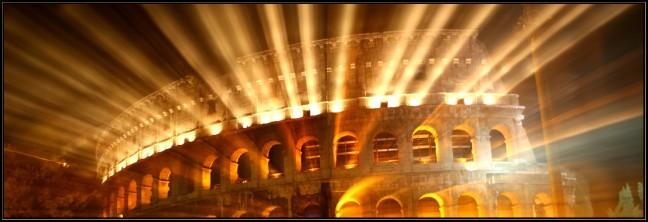 Colosseum @ night