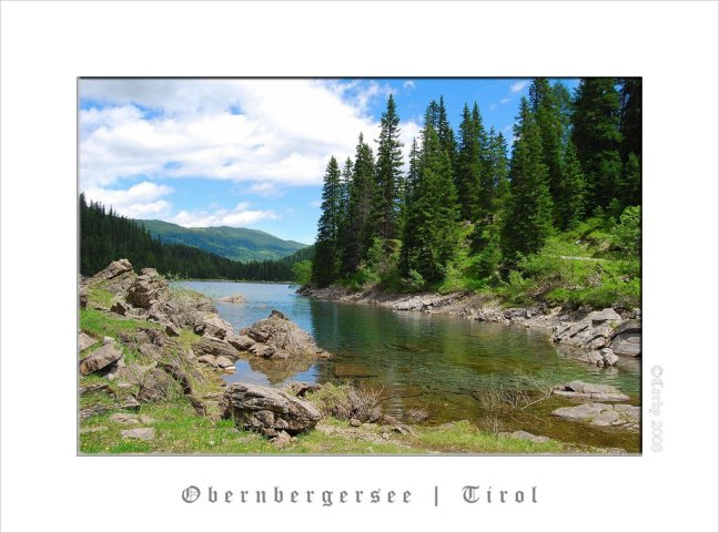 Obernbergersee | Tirol (2)