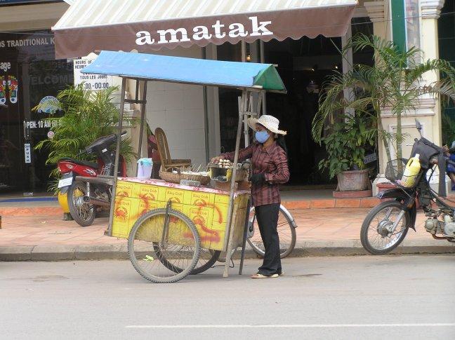 koken op straat