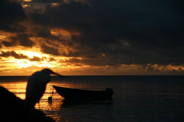 fakarava zonsondergang