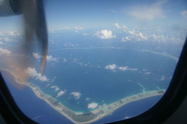rangiroa luchtfoto