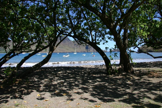 Nuku Hiva Taiohae strand