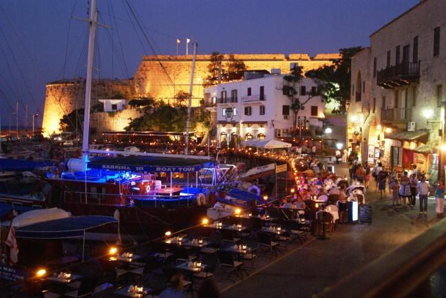 Nachtleven in Kyrenia