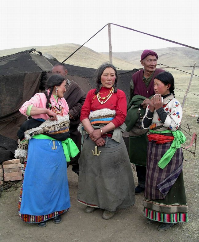Nomadenfamilie
