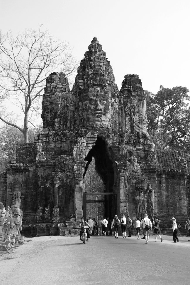 Tempelcomplex poort