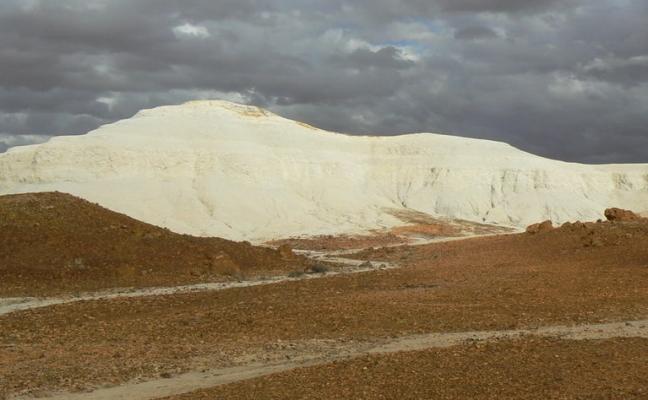 geverfde woestijn