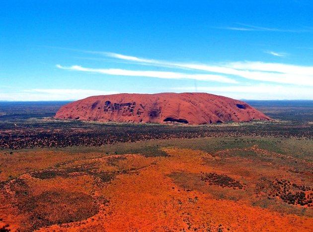 Uluru by air