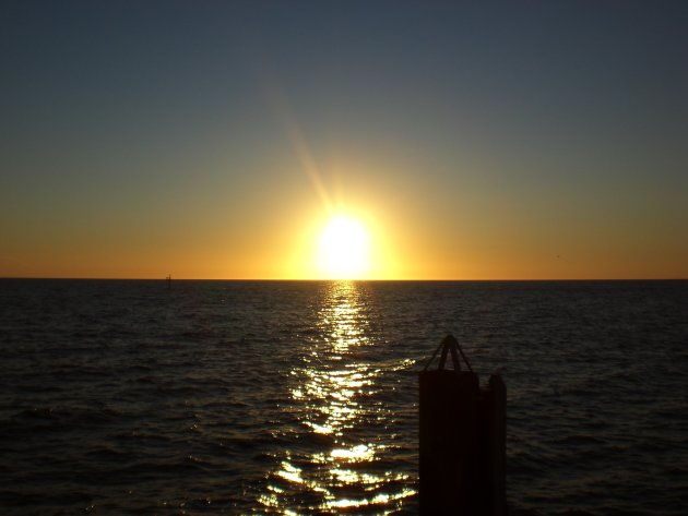 Zonsondergang in Glenelg