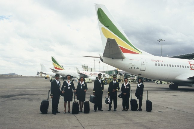Ethiopian Airlines bemanning