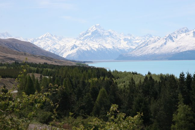 Mount Cook 3754 mtr