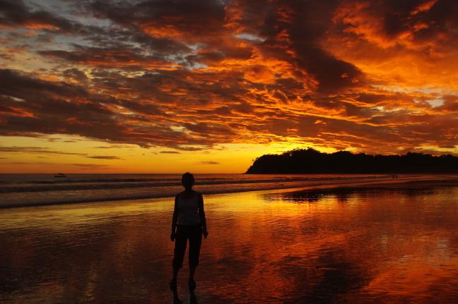 onbeschrijfelijke zonsondergangen