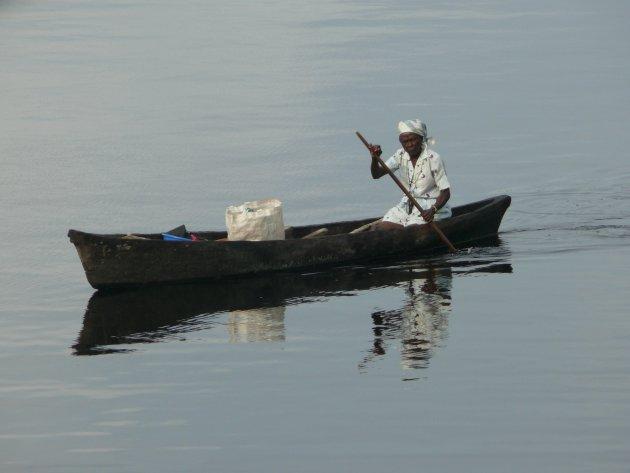 Boodschappen doen in Gabon
