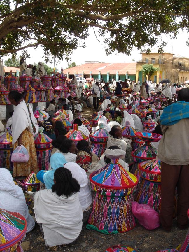 Markt in Axum