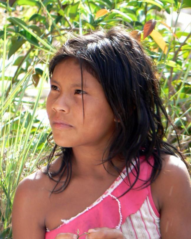 Amerindian Girl