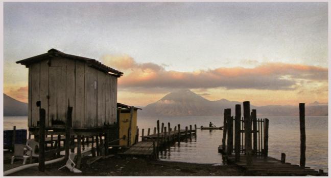 Early Morning Lake Atitlan