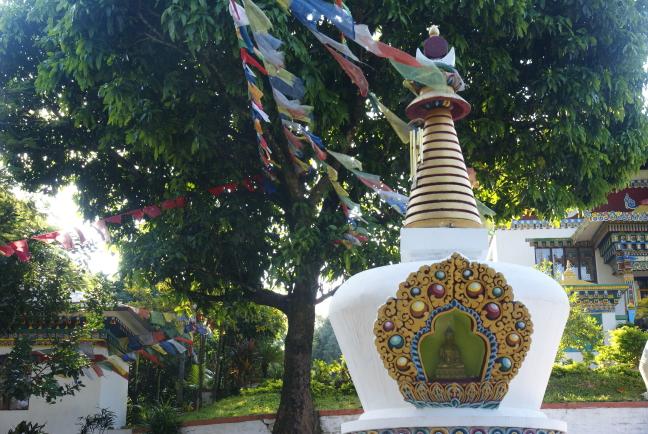 Rinchending Goempa - stupa